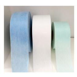 Azul/verde/blanco de la banda de cintura elástica desechables de Pañales hacer