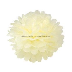 웨딩 장식 인공 조직 수공예품들 종이 꽃 접습니다