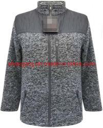 Mens Sherpa Forrada Suéter Fleece Jacket