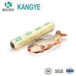 Étirer transparent 10-15 microns Rouleau de film transparent en PVC Jumbo de ligne de production pour l'emballage alimentaire