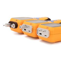 高精度1つのガス分析器の酸素の検光子の排気ガスの検光子アラームに付き手持ち型の自動車ポンプ吸引のタイプ4つ