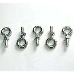De 3/8 pulgadas de alta calidad de acero al carbono tornillo pequeño ojo gancho