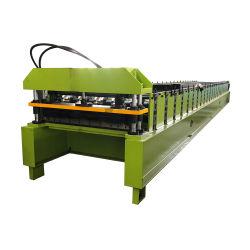 Direct Factory Automatic Trapezoidal dakplaat IBR Box Profile dak-paneel voor het maken van rolvormmachine machines Productielijn