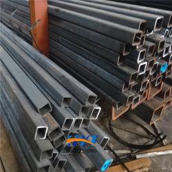 200X100mm schwarzes hohles rechteckiges Stahlgefäß des Kapitel-Aufbau-ASTM A53 Gr. B