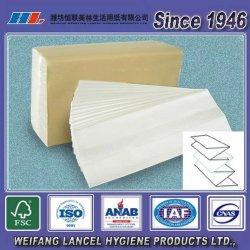 Precio más barato Multi Fold papel de buena calidad Embossed toalla de mano, papel de papel de mano, papel de toalla de papel N-Fold