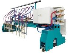 قاطع شعلة البلازما CNC بجسر الرافعة للفولاذ الكربوني بالألواح المعدنية قاطع البلازما ذو شعاع THC 200A 120A 300A 400A