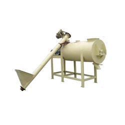 ميكسر عمودي بالهاون الهيدروليكية الصغيرة ذات الطاقة الجافة الساخنة للبيع خلاط برغي لولبي محمول ملولب بالهاون الجافة خلط مع مصنع إطعام القادوس