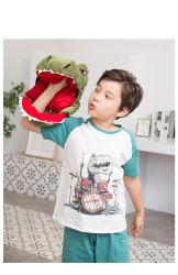 الأولاد وقت الفراغ الصيف ارتداء ملابس تشبه الديناصورات المطبوعة على طريقة ملابس الأطفال