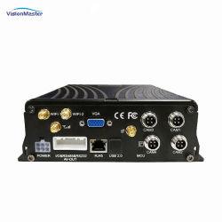 El disco duro de 4CH Mdvr carretilla el streaming de vídeo con el GPS 4G