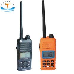 Explosion-Proof Bidireccional portátil VHF Marino transceptor de radio Walkie Talkie// células