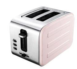 Home tostadora automática máquina de acero inoxidable desayuno ligero personalizado