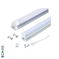 공장 직판 품질 LED 튜브 T8 형광등 6500K SMD LED T5 2ft 3ft 4ft 600mm 900mm 1200mm 9-25W LED 선형 램프(CE RoHS 포함
