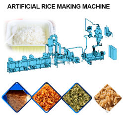 Re-Shaping/máquina extrusora de arroz arroz fortificado con granos de arroz/Línea de proceso planta de producción Re-Make