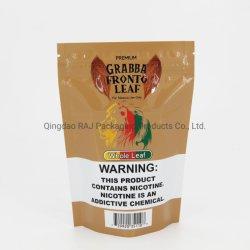 3 Стороны герметичность упаковки пластиковый мешок для курения сигар листьев конопли