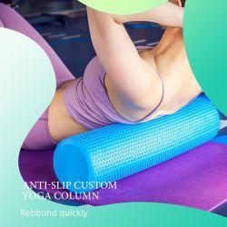 Venda por grosso de ioga multicor coluna usada na Academia de espuma de yoga massagem do rolete tensor