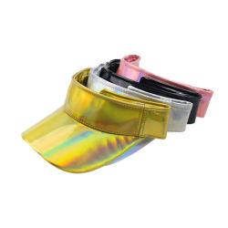 새로운 다채로운 빈 실크 해트 차양 Laser 모자를 매 염색한다