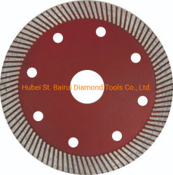 Corte a seco para o Disco de Corte com lâminas pequenas concreto de granito