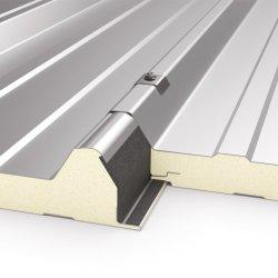 Installation facile au meilleur prix PG/PIR/PUR façade panneau sandwich en polyuréthane pour toit et de mur pour chambre froide des matériaux de construction