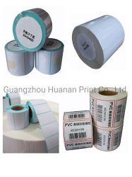 Het klantgerichte Zelf Zelfklevende Etiket van de Plaat van het Koper PVC/Paper Stricker