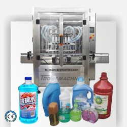 Sapone automatico liquido/ disinfettante per le mani alcol/ riempitrice di bottiglie Shampoo Linea di produzione imbottigliamento automatico