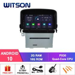 Processeurs quatre coeurs Witson Android 10 Système audio de voiture pour Opel Mokka construit en fonction GPS DAB+ radio du véhicule