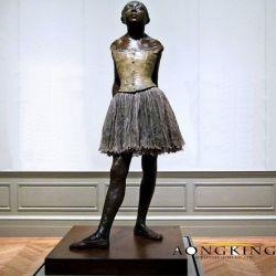 Beste verkaufende berühmte kleine Tänzer-Bronzestatue
