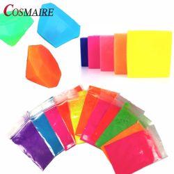Цветные пигментные неоновых флуоресцентный порошок оптовая торговля - на мыло принятия решений