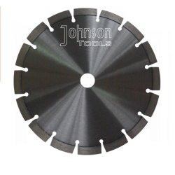 230mm hojas de sierra de diamante de soldadura por láser para corte de asfalto