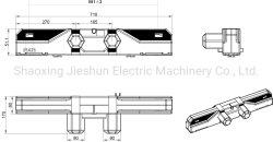 Cama Ajustável 24V cama hospitalar eléctrico Motor Duplo Duplo de atuador linear JS35j Junesun