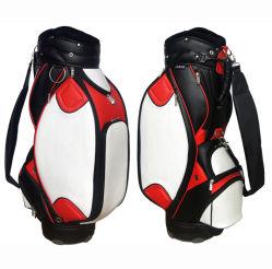 Duelxe PU Design de mode de golf sac de personnel (GL-9081)