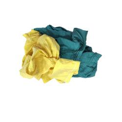 بيع بالجملة استعمل [ت] قميص [درك كلور] نسيج نفاية قطن ملبس محبوك