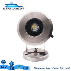 IP68 75mm Edelstahl LED Unterwasser Spot Pond Licht
