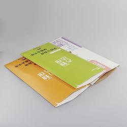 食品等級オイルの揚げられていた食糧のための習慣によって印刷される白いボール紙の紙袋