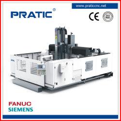 Alta precisión BT40 Perfiles de aluminio máquina CNC para perforación, fresado, corte