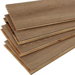 ثلاث /طبقات من خشب البلوط الأبيض الخشب الصلب الهندسة الأرضية