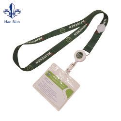 Barato plástico blando cordón personalizado Titular de Tarjeta de ID de estudiante