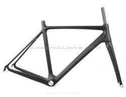 標準的なフレームの軽量700c道のバイクフレームカーボンファイバーの道の自転車Frameset 1050g - Talia Cのための大きい割引