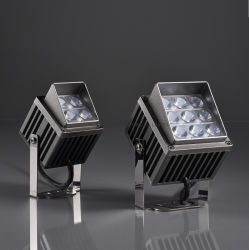 屋外の花の木のプラント点の照明のためのIP66立方4W 8W LEDのスポットライト