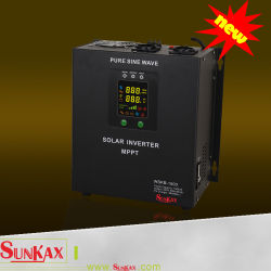 MPPT 떨어져 격자 UPS AC Charger& AVR 기능을%s 가진 순수한 사인 파동 태양 변환장치