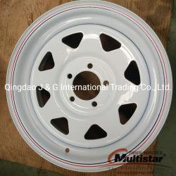 백색 모듈 트레일러 바퀴 변죽, 스포크 바퀴 변죽, St 타이어 바퀴 변죽, 강철 트레일러 바퀴 변죽, 14X6, 15X6, 16X6