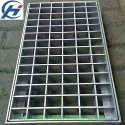 Dentada o industrial o de plano Statinless anchos de vía normal de la barra de acero rejilla (yh-32)