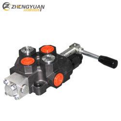 120lpm hidráulico giratorio carrete única válvula de control direccional SD14