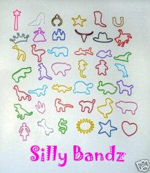Nuova principessa Silly Bandz del silicone di arrivo 2017