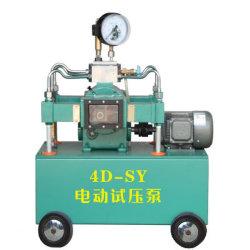 4dsy eléctrico de alta presión de la bomba de prueba hidráulica