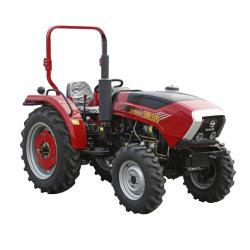 トラクターの製品4WD Th554の55HP小型小さい四輪農場トラクター果樹園の水田の芝生の大きい庭のトラクターの中国の製造者