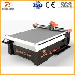 Machine de découpe du carton ondulé de pliage PP Machine de découpe CNC en plastique creux boîte carton PE Feuille de la grille d'administration de la machinerie creux