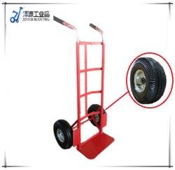 Carrello d'acciaio della mano delle rotelle del magazzino due del fornitore del Vietnam e del cinese con il prezzo poco costoso