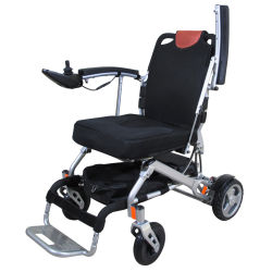 CE 고품질 접이식 전동 휠체어(브러시리스 모터 포함) 총 21kg