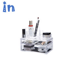 Maquillaje de acrílico de almacenamiento de Organizador de mostrar la Tabla de productos cosméticos Set titular