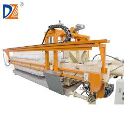 De automatische Machine van de Pers van de Filter met het Apparaat van de Was van de auto-Doek